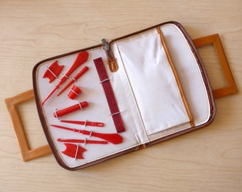 Nice French Vintage Sewing Kit from the 1960's or 1970's - Original Gift Idea