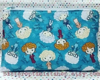 Golden girls inspired large cosmetic bag thank you for being a friend