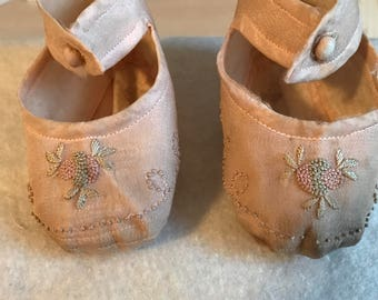 Very old baby shoes