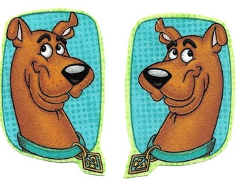 Scooby Doo iron on appliques DIY