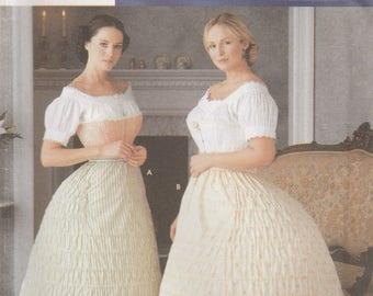 Hoop Skirt, Crinoline Pattern Simplicity 7216 Size 14 - 20 UNCUT