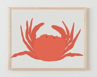 Fine Art Print. Crab. August 11, 2014.