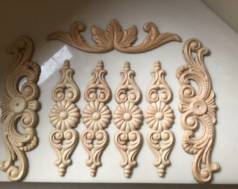 wooden appliques for furniture. sold wood furniture appliqus arts and crafts wooden appliques for