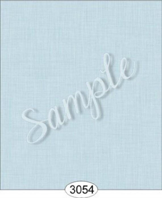 Dollhouse Miniature Wallpaper, Bluebelle, Linen Pattern, Scale One Inch