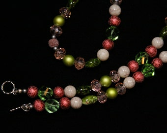 Strawberry Kiwi Necklace