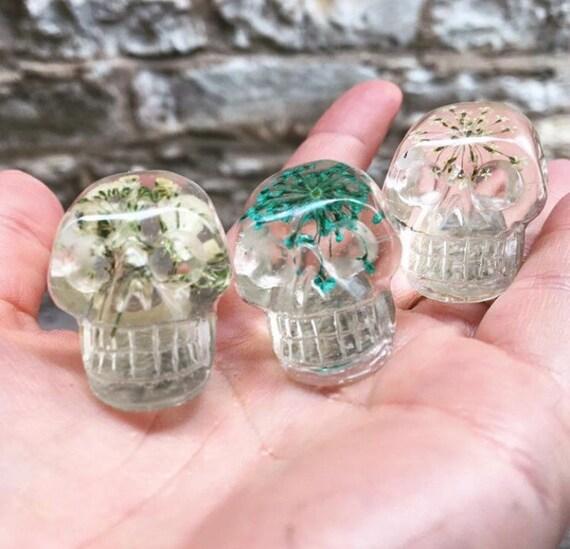Preserved Botanicals Miniature Resin Skull