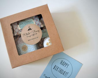 Birthday Box: Spa Gift Box, Birthday Gift, Gift for her, Bridesmaid Gift, Mother's Day Gift