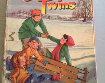 Vintage Bobbsey Twins Merry Days Inside & Out by Laura Lee Hope