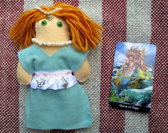 Aphrodite Poppet - Voodoo Doll, Juju Doll, Spirit Doll, Magic Doll, Goddess Doll