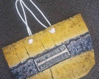 Tote Bag - Bristol Tennessee Virginia Line