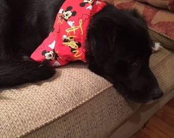 Disney Mickey Mouse personalized doggie bandana