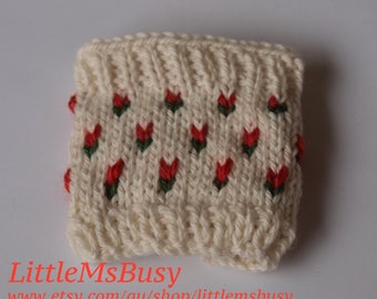 Coffee Cup Cozy - Fields of Tulips