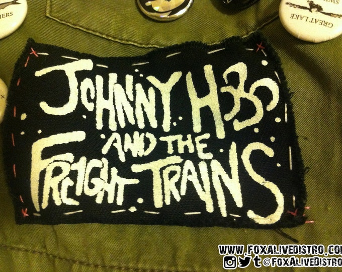 Johnny Hobo and the Freight Trains Patch