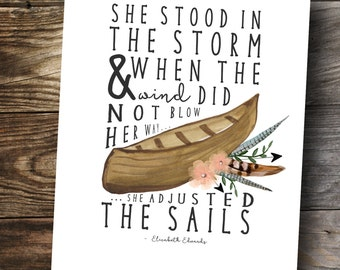 Elizabeth Edwards printable wall art quote