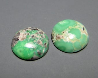 Carico Lake Mine Natural Turquoise Cabochons from Nevada, 1.72 cttw.