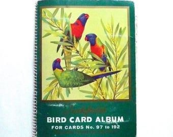 Tuckfields Bird Card Album Australian Birds Ornothology