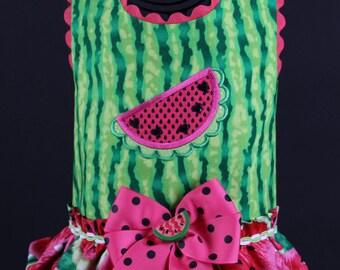 SAMPLE SALE:  Watermelon Surprise Dog Harness