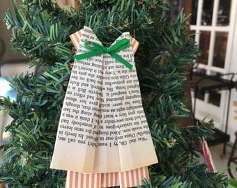 Anne of Green Gables Dress Ornament
