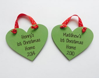 First Christmas Home Adoption Ornament