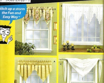 2002 Simplicity WindowTreatments 5980 Sewing by patternscentral