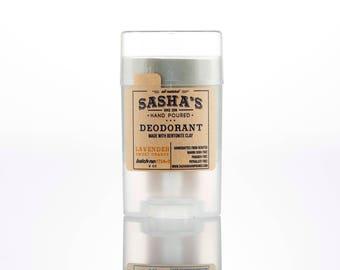 Deodorant Lavender - sensitive skin - baking soda free - natural deodorant - organic deodorant - sasha - lavender essential oil - arrowroot