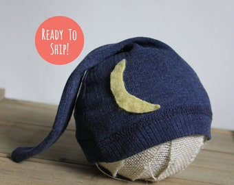 Good Night Moon Newborn Hat Prop