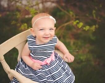 WHITE HEADBAND, White Headband Baby, Photography Prop, Headbands, Infant Headbands, Newborn Headbands, Baby Headbands, Newborn Photo Prop