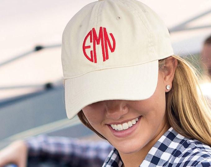 Monogrammed Baseball Hat, Monogrammed Baseball Cap, Ball Cap, Monogrammed Gifts, Gifts under 20, Gifts for her, Monogrammed Hat