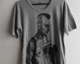 Robert D TaxiDriver Grey Shirt M