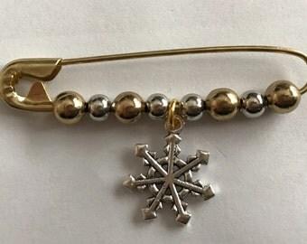 Snowflake SAFEty pins