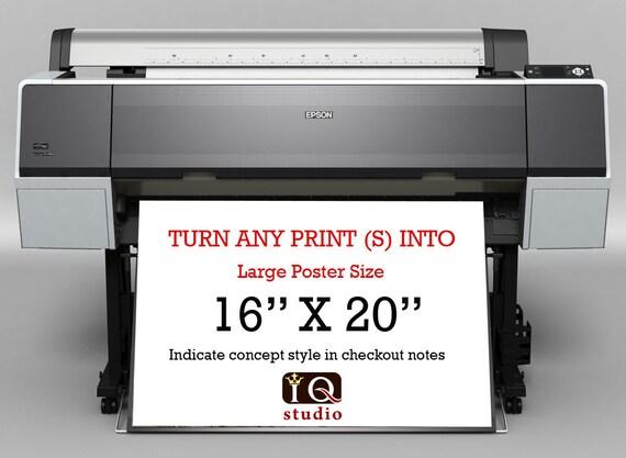 "Any 16"" X 20"" Artprint Only"