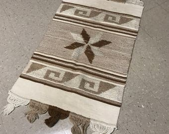 Southwest Wool Woven Rug/ Wall Hanging