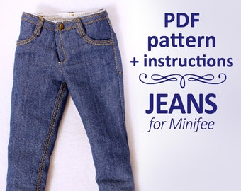 Skinny denim Jeans for MiniFee
