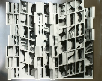 Louise Nevelson-At Pace Columbus (Silver)-1977 Foil Print