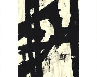 Franz Kline-New York, NY-1991 Serigraph