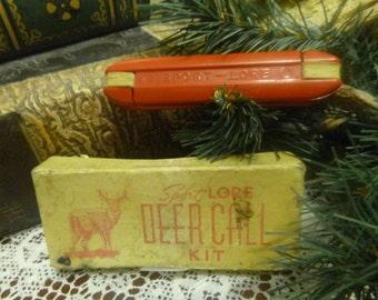 Vintage Sport-Lore Deer Call   (T)