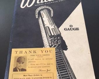 Walters Model Railroad Equipment Catalog