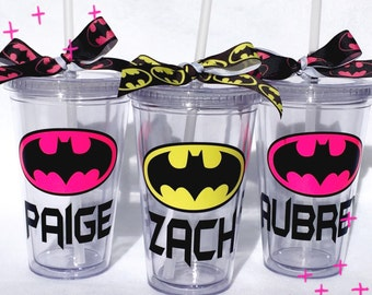 Personalized Batman Super Hero Tumbler