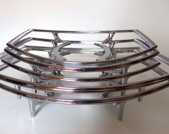 Corningware Pyrex Dish Trivets/Casserole Stand/Mid Century Servingware  *Price Includes Domestic Shipping
