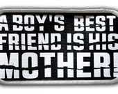Patch - A boy's Best Friend Patch - Heat Seal / Iron on Patch for jackets, shirts, tote bags, hats, beanies, cases and more