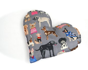 Gifts for Dog Lovers Aromatherapy neck and Sinus Heating Pad Natural Microwavable Hot Pad
