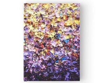 Hardback Journal, Pretty Stationary, Notebook Office Supplies, Hardcover Prayer Journal, Colorful Art, Cute Diary, Sketchbook Spring Rains