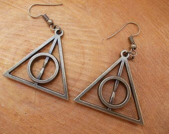 HARRY POTTER, Deathly Hallows, Earrings