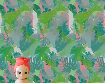 Jungle Blush Dollhouse Wallpaper Download