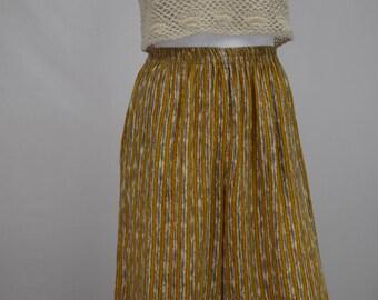 Vintage Rayon 1980s Shorts