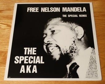 Vintage Free Nelson Mandela The Special AKA Remix Elvis Ranking Roger Stan Campbell Apartheid South Africa