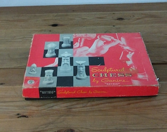 Mid Century Chess Set by Ganine Gothic