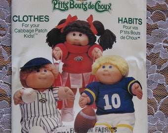 Cabbage Patch Kids Clothes patterns