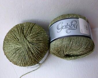 Yarn Sale  khaki 44 Gatsby by Katia