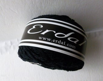 Yarn Sale  - Black Chenille  Gypsy by Erdal
